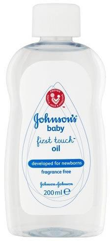 Johnsons Baby First Touch Oil 200ml