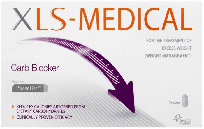 XLS Medical Carb Blocker Tablets Pack of 30