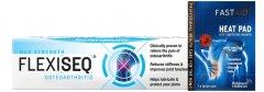 Flexiseq Gel 50g & FastAid Advanced Heat Pad