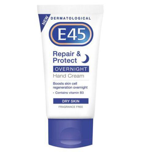 E45 Repair & Protect Overnight Hand Cream 50ml
