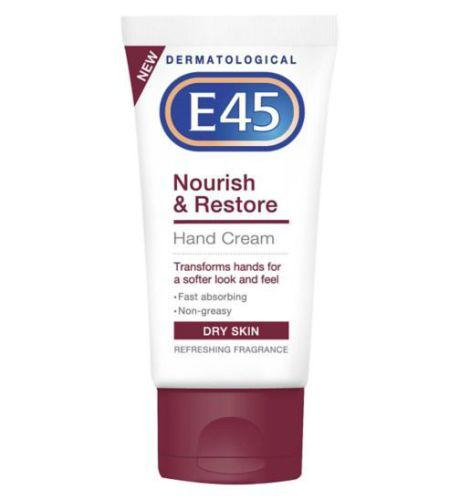 E45 Nourish & Restore Hand Cream 50ml