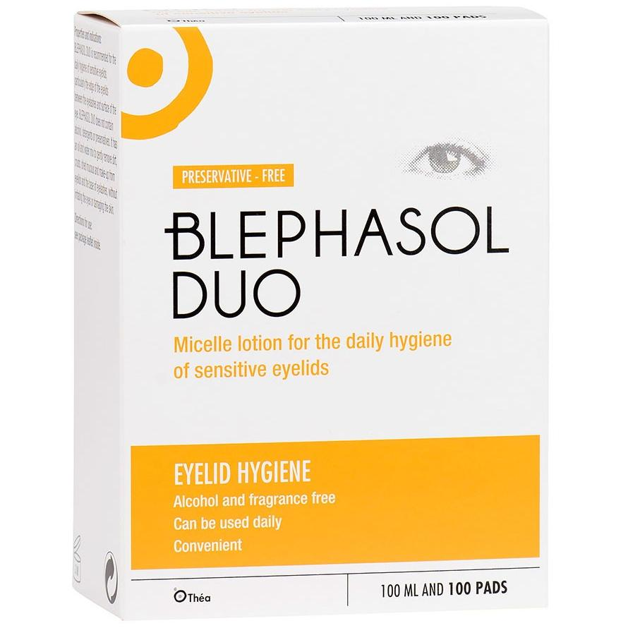 Blephasol DUO 100ml Lotion & 100 Pads