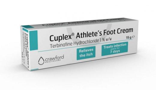 Cuplex Athlete's Foot Cream 15g