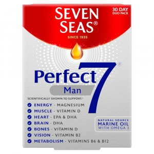Seven Seas Perfect 7 Man 30 Day Supply