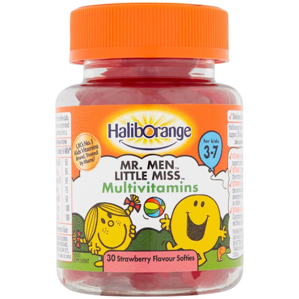 Haliborange Mr Men Little Miss Multivitamins Softies Pack of 30 x 3
