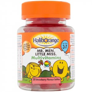 Haliborange Mr Men Little Miss Multivitamins Softies Pack of 30