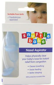Snufflebabe Nasal Aspirator Boxed