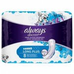 Always Discreet Long Plus Pads Pack of 8