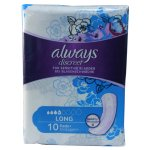 Always Discreet Long Pads Pack of 10