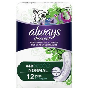 Always Discreet Normal Pads Pack of 12