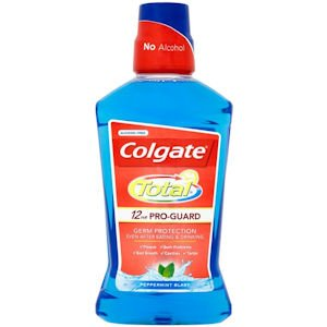 Colgate Total Mouthrinse Peppermint Blast 500ml