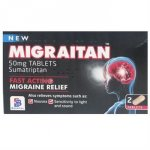 Migraitan 50mg Tablets Pack of 2
