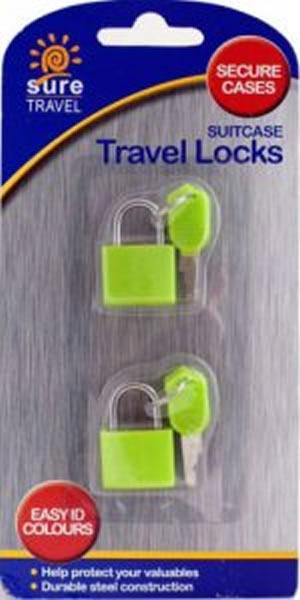 Sure Travel Suitcase Travel Locks Pack of 2