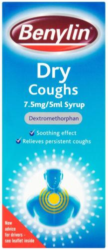 Benylin Dry Coughs Syrup 150ml