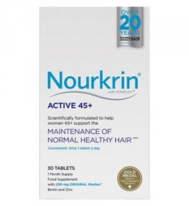 Nourkrin Active 45+ Tablets Pack of 30