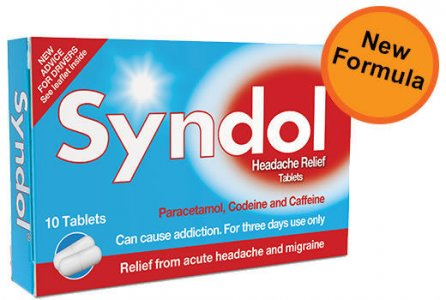 Syndol Headache Relief Tablets Pack of 10