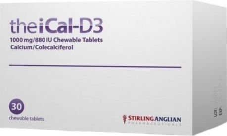 TheiCal-D3 Chewable Tablets Pack of 30