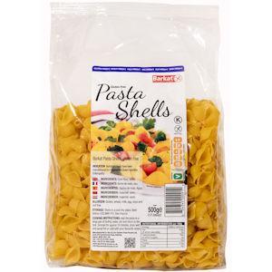 Barkat Gluten Free Pasta Shells 500g