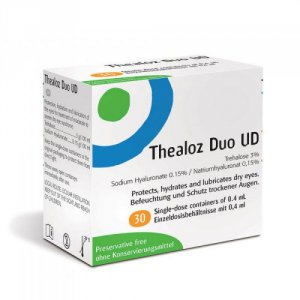 Thealoz Duo UD Eye Drops 0.4ml Pack of 30