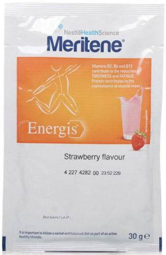 Meritene Energis Strawberry Sachet 30g