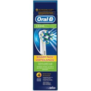 Oral B Cross Action Refills Heads Pack of 4