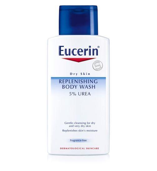Eucerin Dry Skin Replenishing Body Wash 5% 200ml