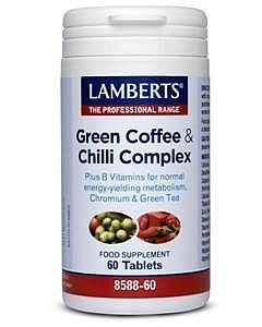 Lamberts Green Coffee & Chilli Complex Tablets Pack of 60