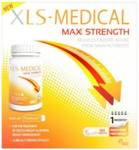 XLS Medical Max Strength Tablets Pack of 120