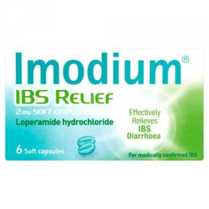 Imodium IBS Relief Capsules 2mg Pack of 6