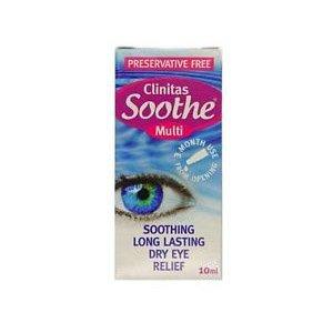Clinitas Soothe Multi Dry Eye Relief Drops 10ml