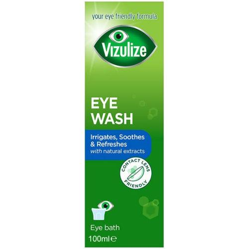 Vizulize Eye Wash & Bath 100ml
