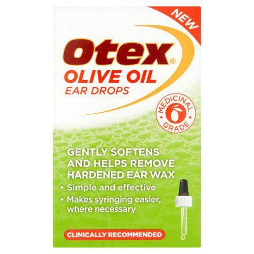 Otex Olive Oil Ear Drops 10ml