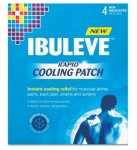 Ibuleve Rapid Cooling Patch Pack of 4