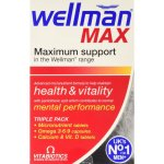 Wellman Max Capsules Pack of 84