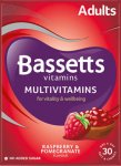 Bassetts Multivitamins Raspberry & Pomegranate Flavour Pack of 30