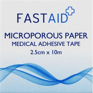 Fastaid Microporous Tape 2.5cm x 10m