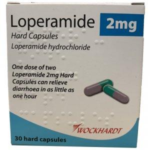 Loperamide Diarrhoea Relief Capsules Pack of 30