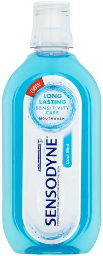 Sensodyne Cool Mint Fluoride Mouthwash Alcohol Free 500ml