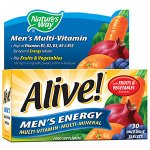 Alive! Men's Energy Tablets Pack of 30