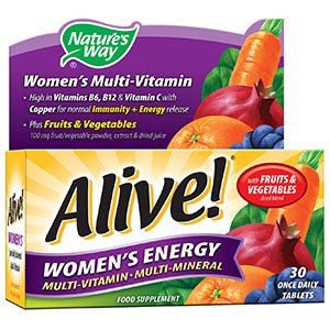 Alive! Women's Energy Tablets Pack of 30