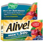Alive! Men's 50+ Tablets Pack of 30