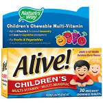 Alive! Children's Multivitamin Chewable Tablets Pack of 30