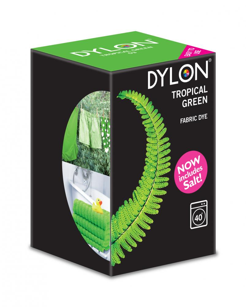 Dylon Washing Machine Dye Tropical Green 350g