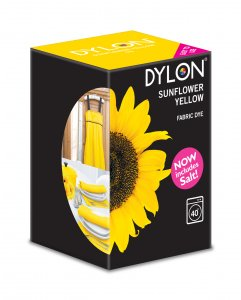 Dylon Washing Machine Dye Sunflower Yellow 350g