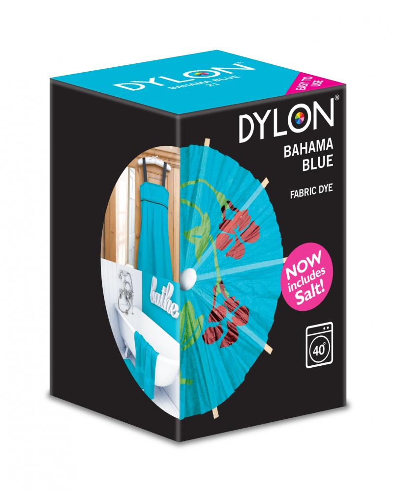 Dylon Washing Machine Dye Bahama Blue 350g