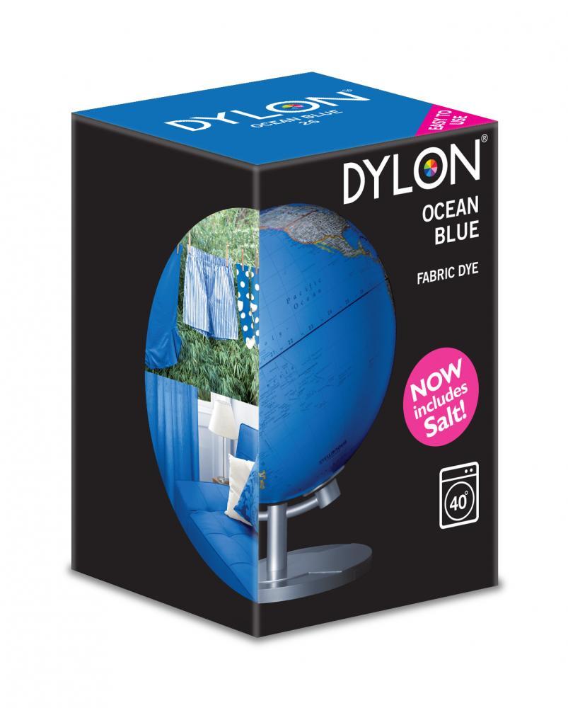 Dylon Washing Machine Dye Ocean Blue 350g