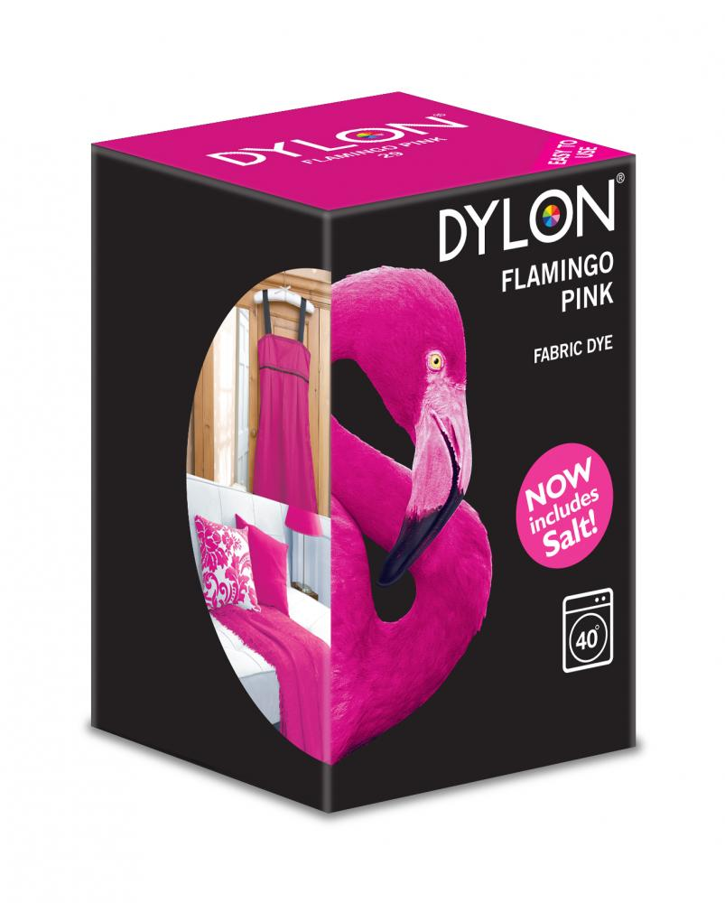 Dylon Washing Machine Dye Flamingo Pink 350g