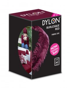 Dylon Washing Machine Dye Burlesque Red 350g