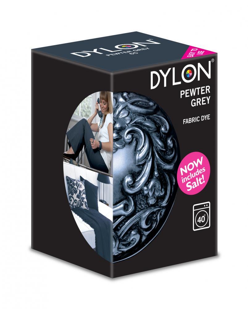 Dylon Washing Machine Dye Pewter Grey 350g