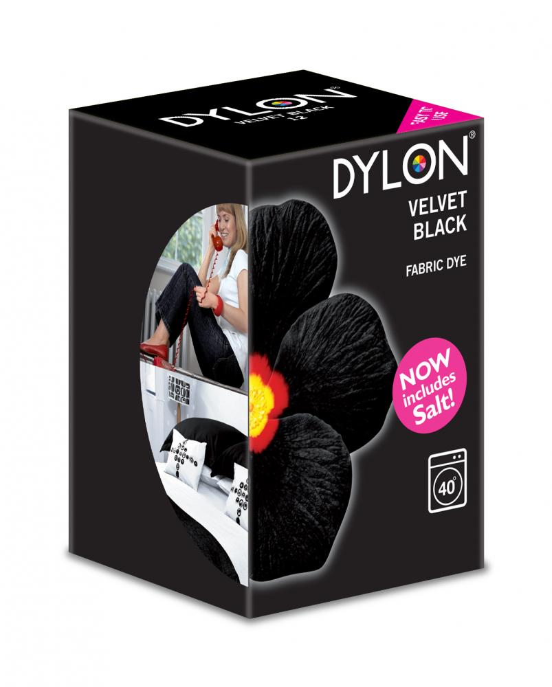 Dylon Washing Machine Dye Velvet Black 350g